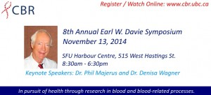 8th Annual Earl W. Davie Symposium