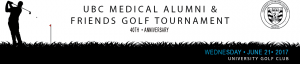 2016 UBC Medical Alumni & Friends Golf Tournament Recap