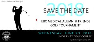 Save the Date! 2018 MAA Medical Alumni & Friends Golf Tournament
