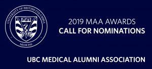 2019 UBC Medical Alumni Association Awards – Call for Nominations