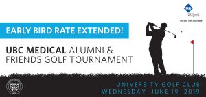 Register now! Early Bird Golf Registration Deadline Extended to Friday, May 31st!