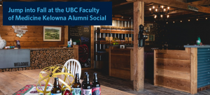 Jump into Fall at the UBC Faculty of Medicine Kelowna Social