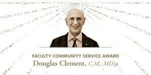 Congratulations Douglas Clement, C.M., MD'59, a recipient of the 2019 alumni UBC Achievement Award