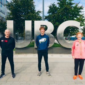 Reaching for the top of the Olympic racewalking world