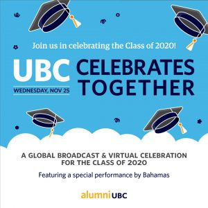 UBC Celebrates Together – Fall 2020